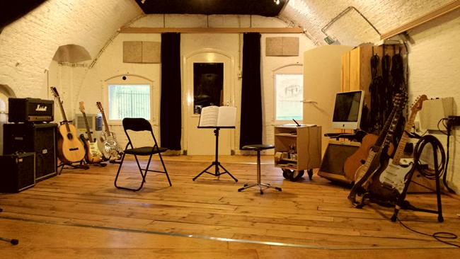 foto van de studio